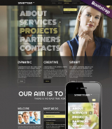 Smart Team web template
