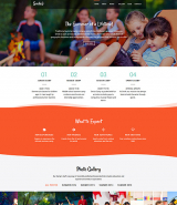 Smile - Summer Camp Joomla Template