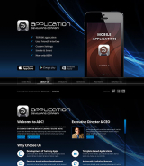Software Developer web template