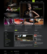 Sound Studio v2.5 web template