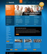 Special Solutions web template