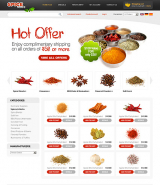 Spices 2.3 ver web template