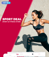 Sport Deal OpenCart Template