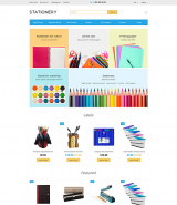 Stationery OpenCart Template