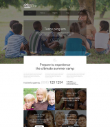 Summer Camp Responsive Joomla Template