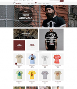 T-Shirt Shop WooCommerce Theme