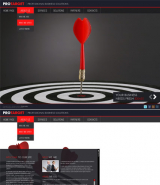 Target Business web template