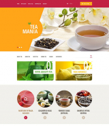 Tea Mania OpenCart Template