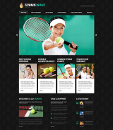 Tennis Responsive WordPress Theme