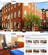 The Hotel web template