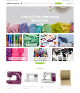 Thread And Needle - Sewing Store Modern Shopify Theme