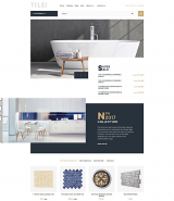 Tile & Stone Responsive OpenCart Template