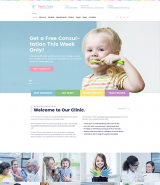 Tooth Fairy - Pediatric Dentistry WordPress Theme