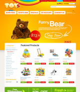 Toys Store 2.3ver web template