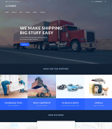 Transit - Logistics and Transportation Service WordPress Theme