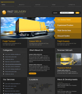 Transportation web template