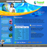 Travel web template