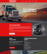Trucky - Transportation & Logistics Responsive WordPress Theme