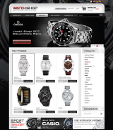 Watch Store 2.3ver web template