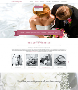 Wedding day web template