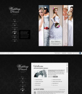 Wedding Dresses web template