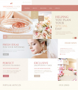 Wedding Guide Joomla Template