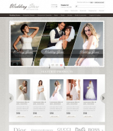Wedding Store web template