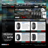 Wheel & Tyres web template