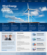 Wind Energy web template