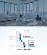 Windows & Doors Responsive Landing Page Template