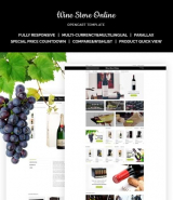 Wine Store Responsive OpenCart Template