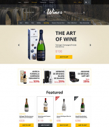 Wines OpenCart Template