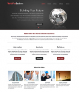 WorldWide Business web template