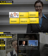 Yellow Business web template