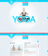 Yoga Classes web template