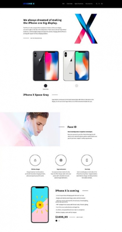 """iShop"" electronic shop OpenCart template"