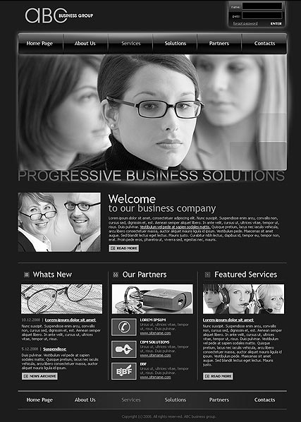 ABC business web template