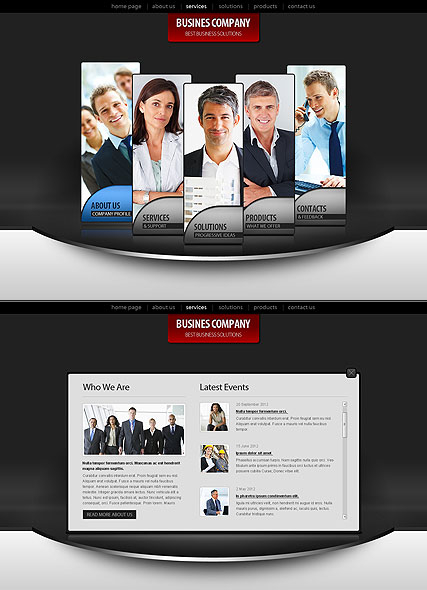 Business Co. web template