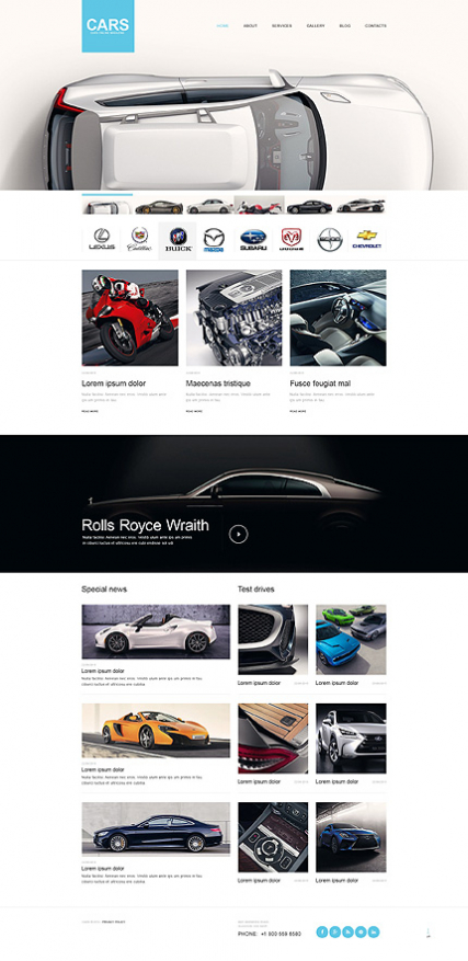 Car Muse Template