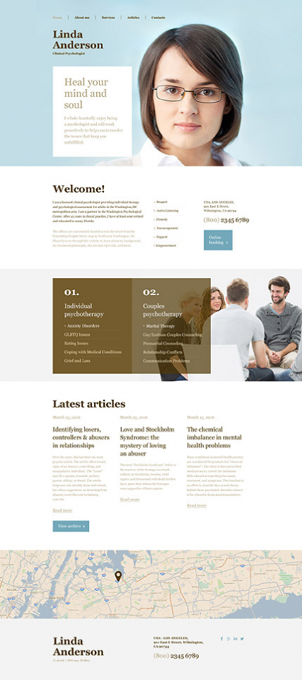 Clinical Psychologist Muse Template