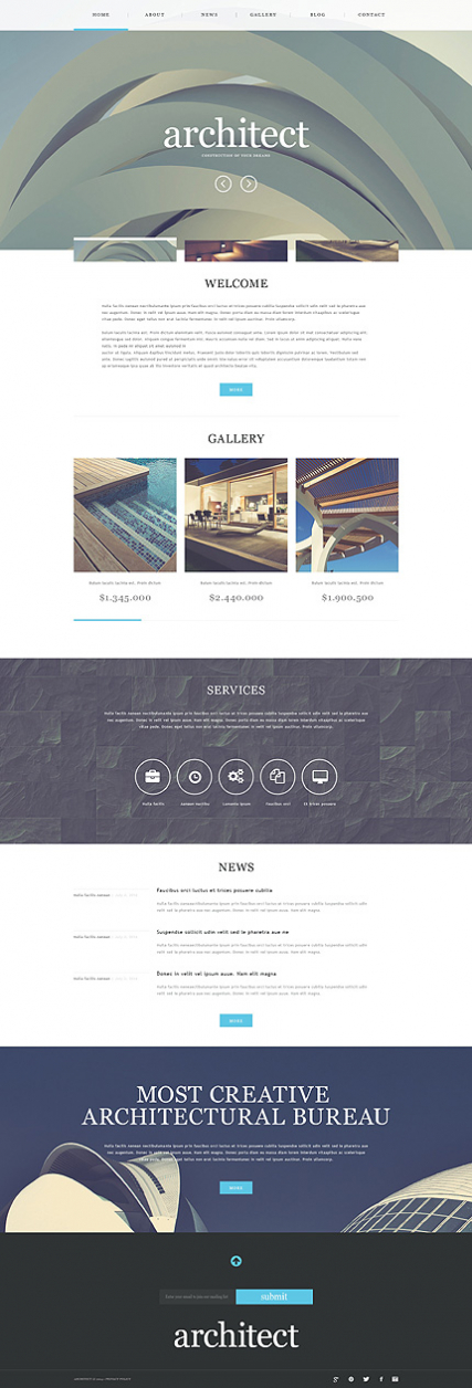 Construction Company Muse Template