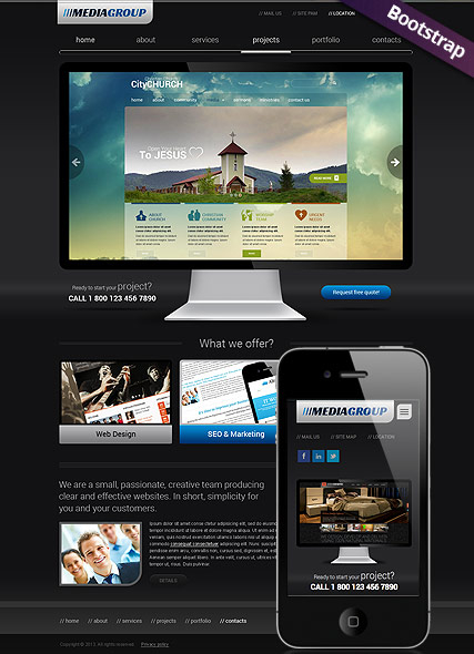 Design Studio web template
