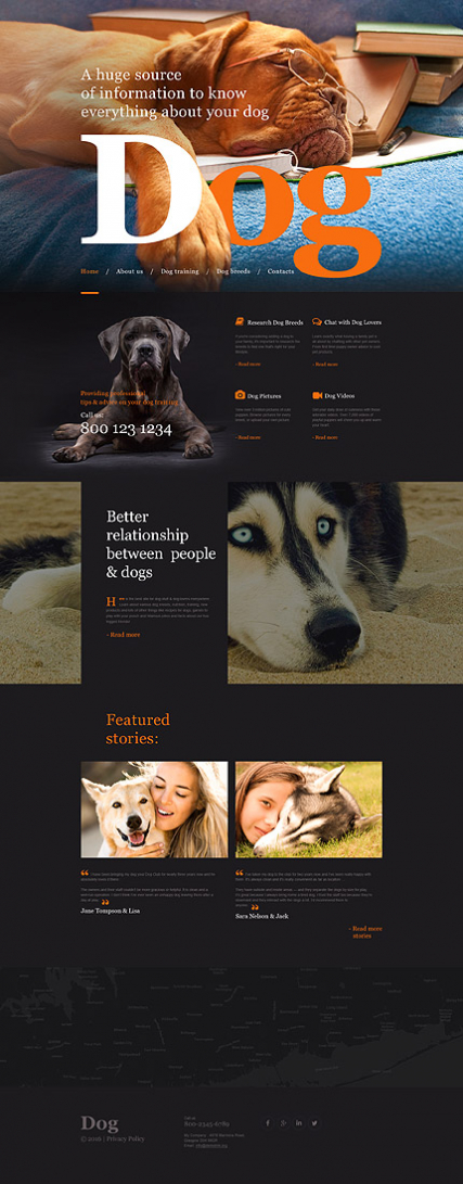 Dog Muse Template