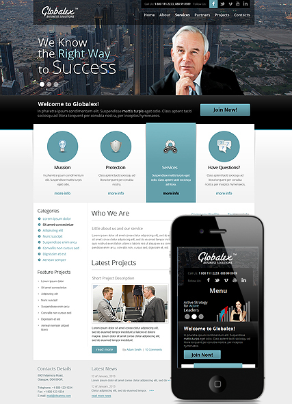 Good Business web template