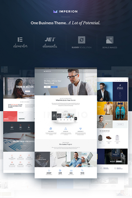Imperion - Multipurpose Corporate WordPress Theme