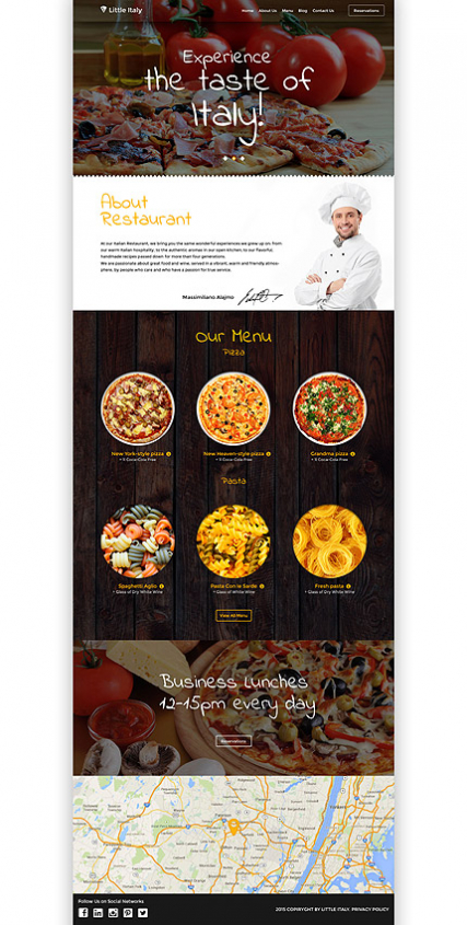 Little Italy WordPress Theme