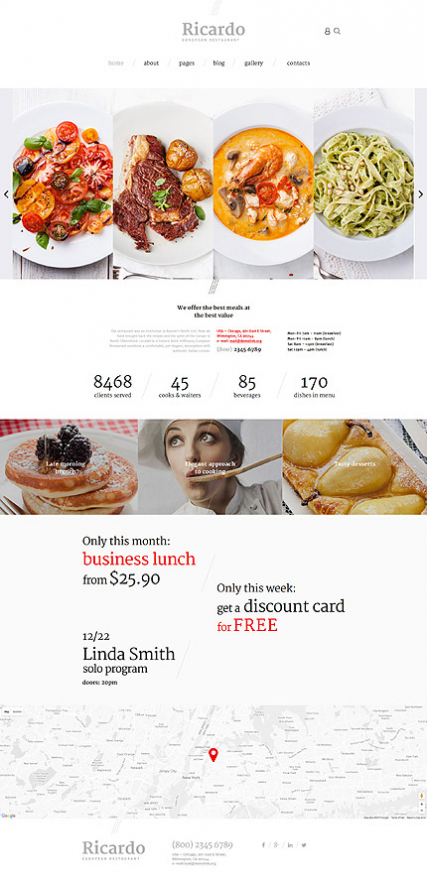Ricardo joomla template for italian cafe ricardo joomla template for italian cafe or restaurant forumfinder Images