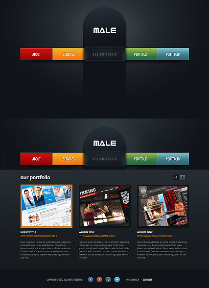 Web Design web template
