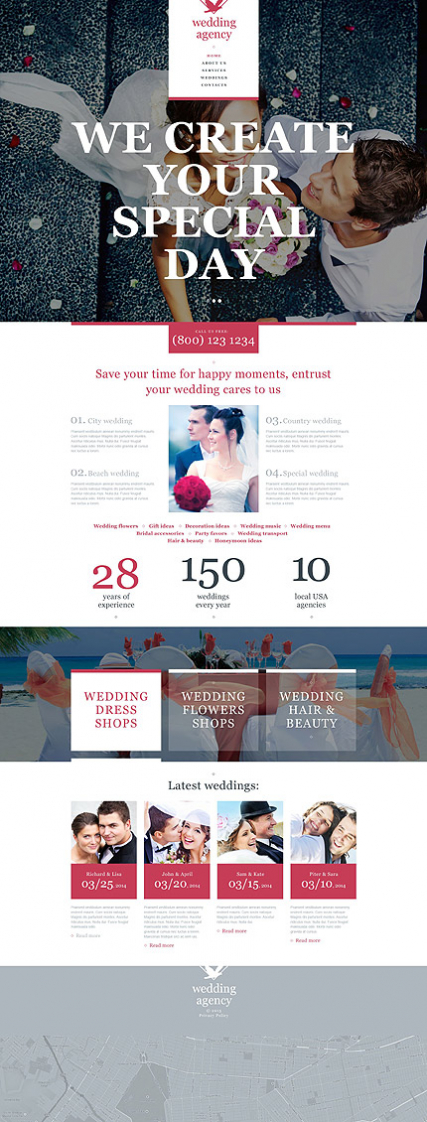 Wedding Muse Template